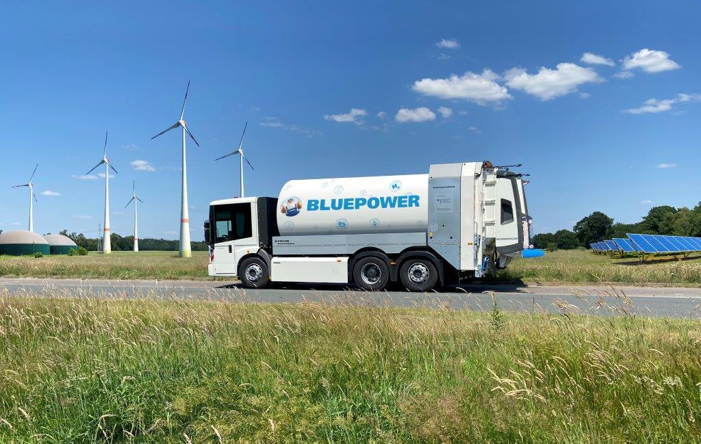 BSR setzt Brennstoffzellen-Fahrzeuge ein