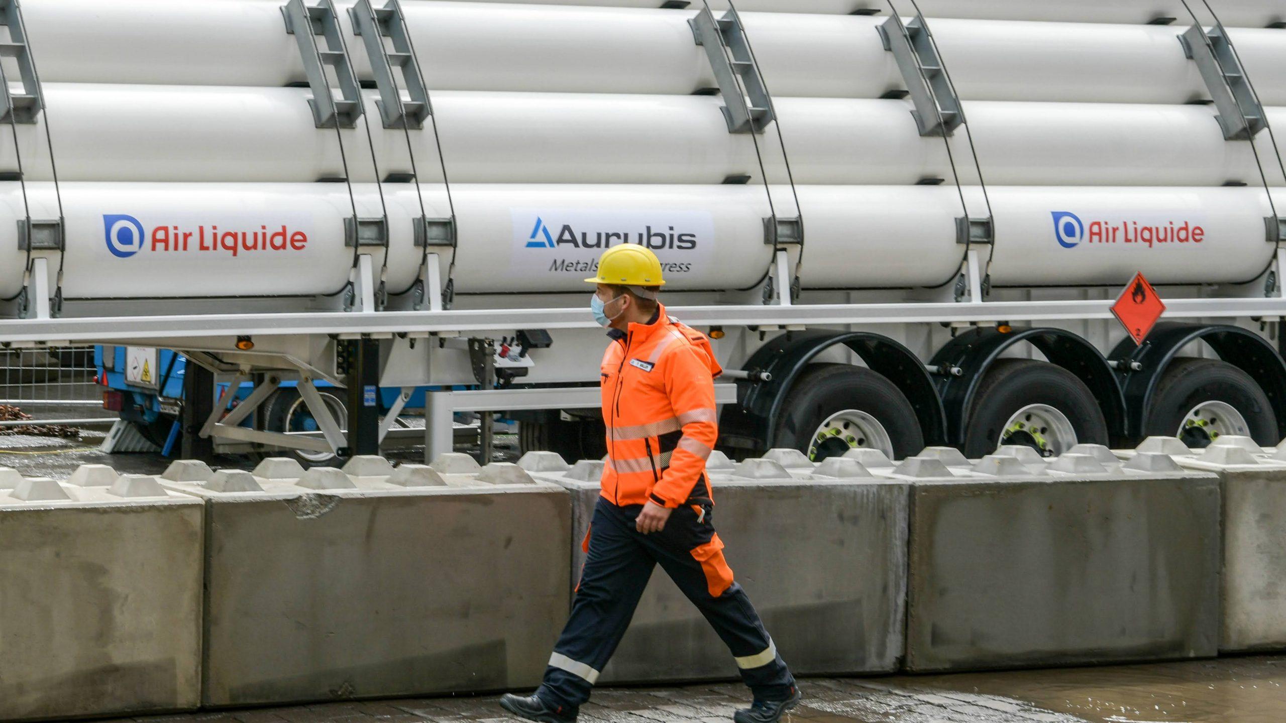 Aurubis produziert erste Kupferanode mit Wasserstoff