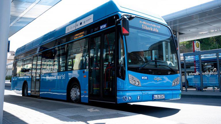 """""""Wasserstoffbusse kosten nicht mehr als Dieselbusse"""""""