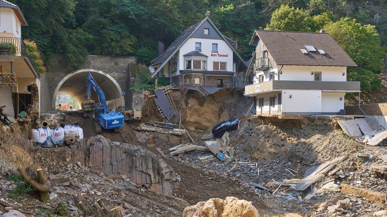 Bauschutt im Flutgebiet soll dem Wiederaufbau dienen