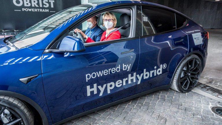 """Erster Prototyp für """"Methanol-Auto"""""""